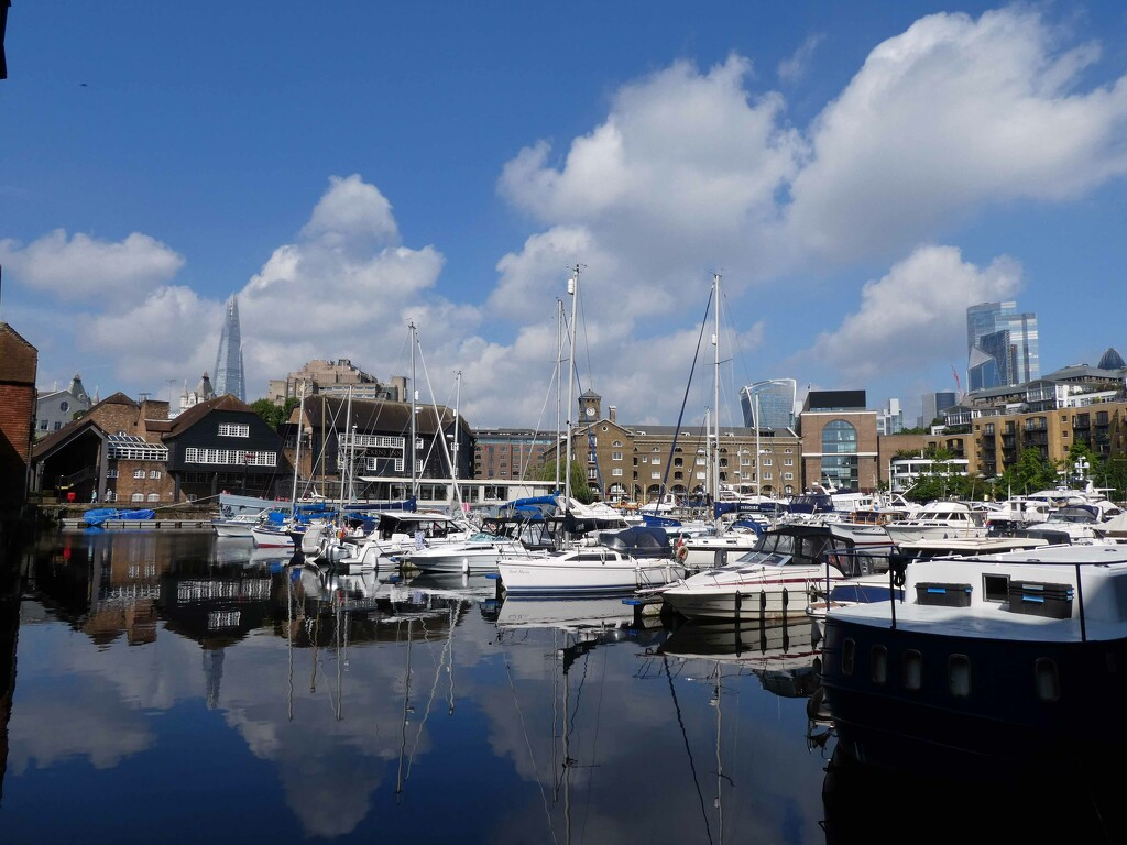 St Catherine's Dock by cmp