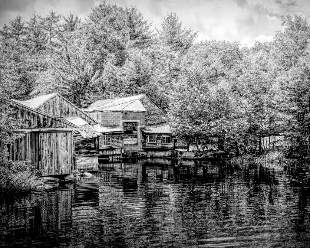 Old Saw Mill by joansmor