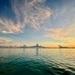 Stunning sunset at sea. by lisasavill