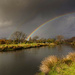 Rainbow over the river by maureenpp