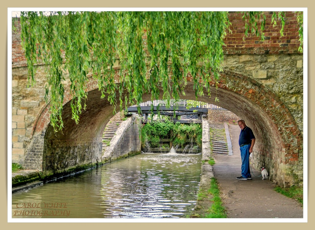 John And Daisy By the Canal by carolmw