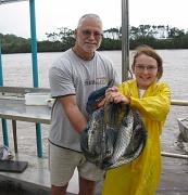 10th Jan 2011 - Riley & Grandpa - what a bag !!!!