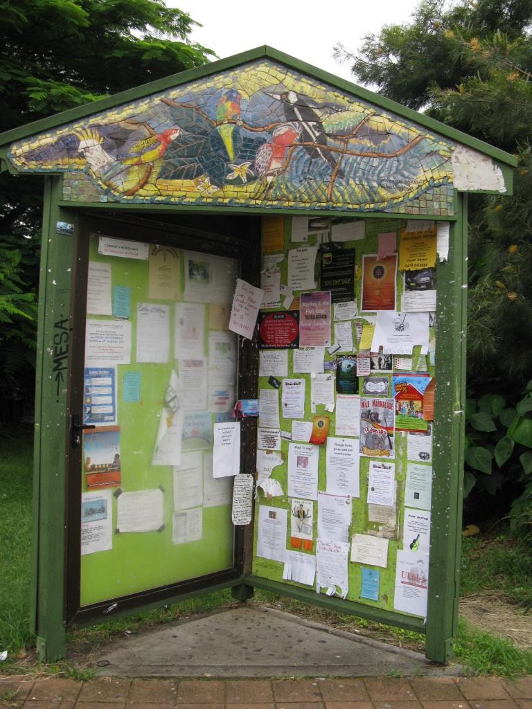 Public noticeboard - Brunswick Heads by loey5150