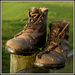 Dad's boots by dide