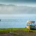 Misty Morning, Low Tide by cdcook48