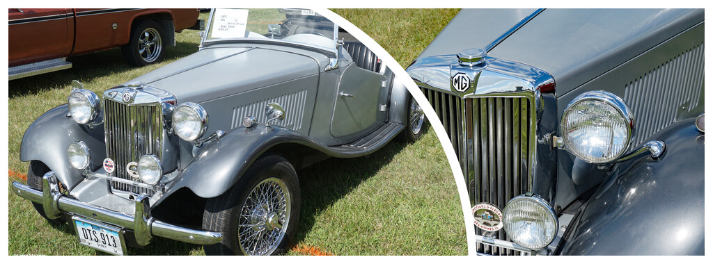 1952 MG well taken care of. by larrysphotos