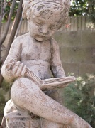17th Feb 2010 - I've always had a fondness for this little statue in my yard
