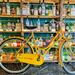 Yellow bike.  by cocobella