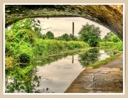 5th Sep 2021 - Canal And Reflections From Under The Bridge