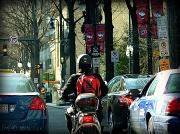 """16th Jan 2011 - """"Metro Rider"""""""