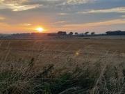 8th Sep 2021 - Sundown across the fields