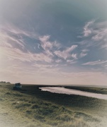 8th Sep 2021 - Wispy clouds over the Loughor Estuary at Pen-clawdd