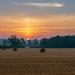 Sun pillar at Sunrise