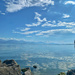 Clouds, lake and rocks