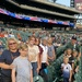 Family at Tigers baseball game