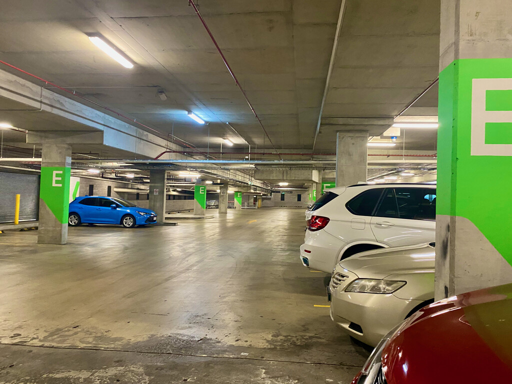 The Emptiness of an Underground Carpark by galactica