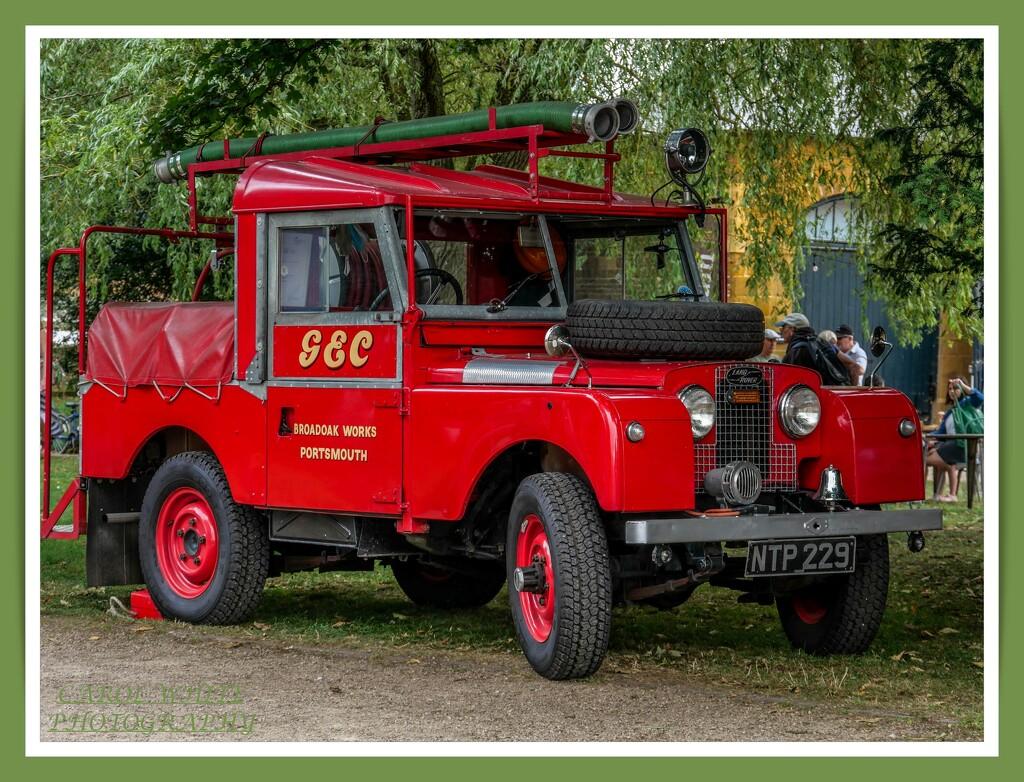 John's Toy (Landrover Series 1 Fire Engine 1957) by carolmw