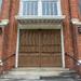 Church doors...