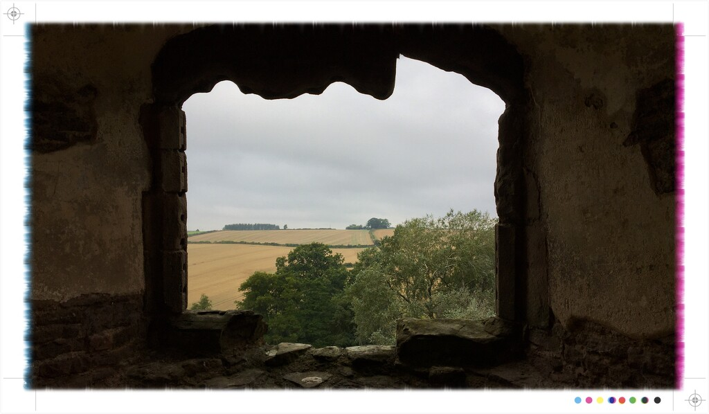 View from the castle window by phil452