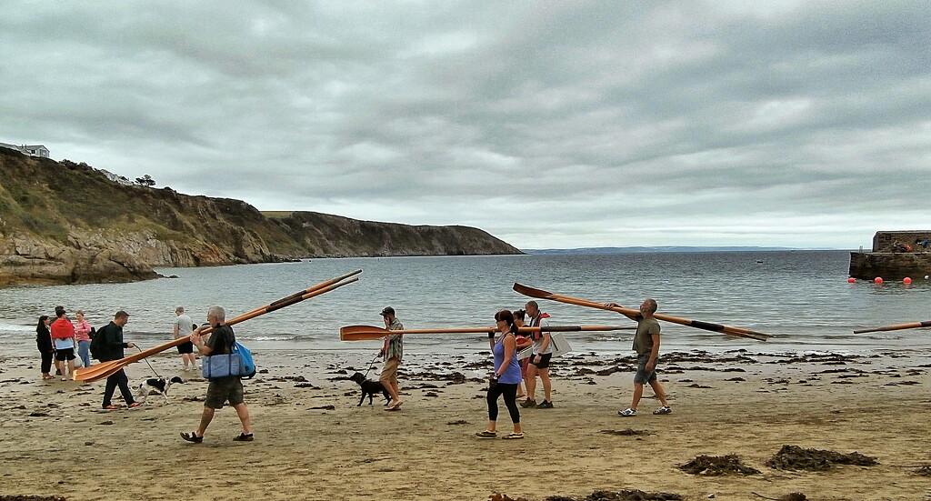 Gig oars..... by cutekitty