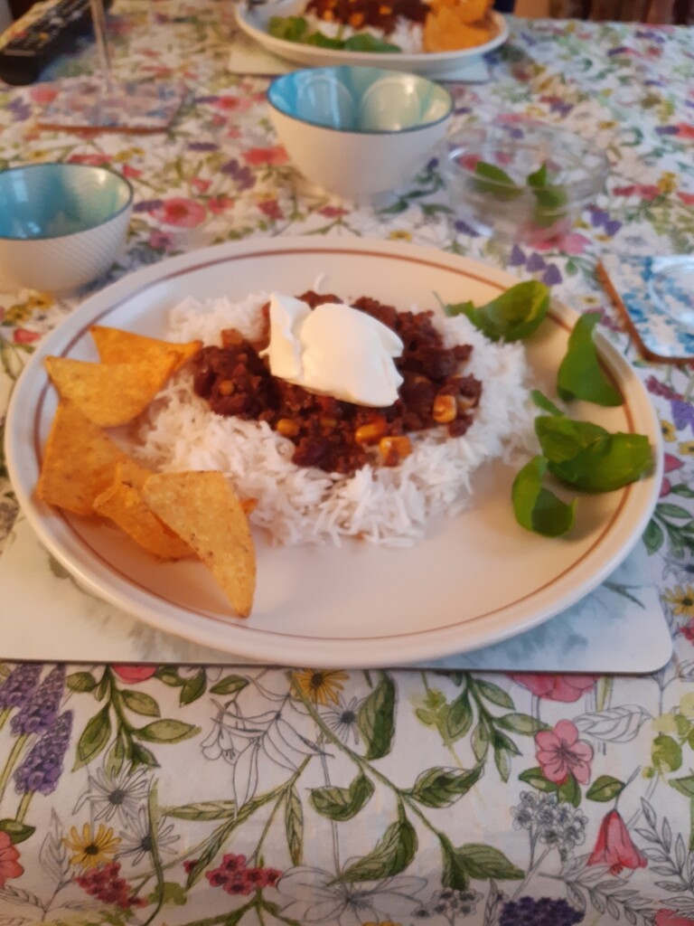 Delicious chilli dish for tea by sarah19