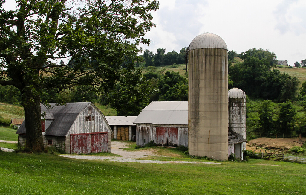Barns in Pennsylvania by mittens