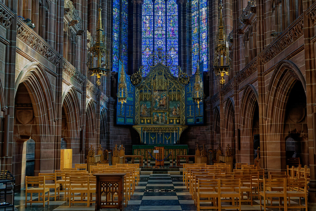 0916 - Lady Chapel, Liverpool Cathedral. by bob65
