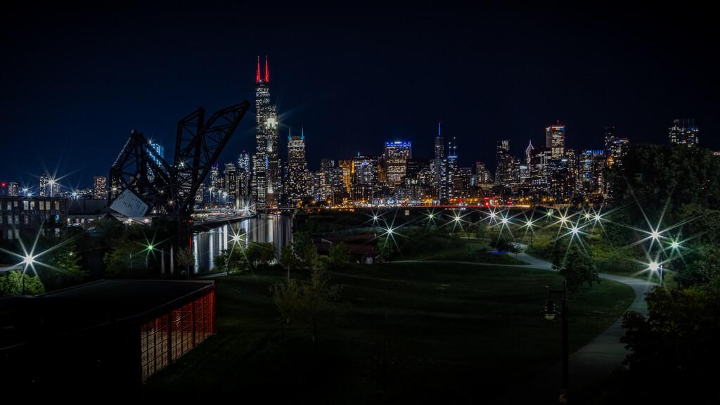 Drive-by Chicago Scene  by jyokota