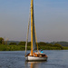 Yacht at Oulton Broad