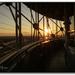 Sunset on the Geo Deck