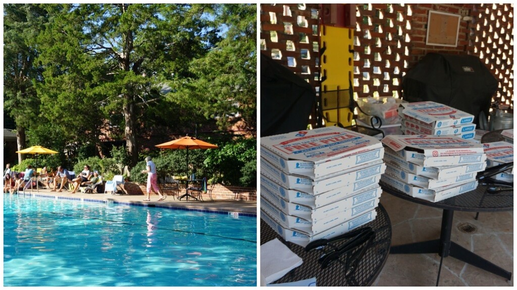 Pizza at the Pool by allie912