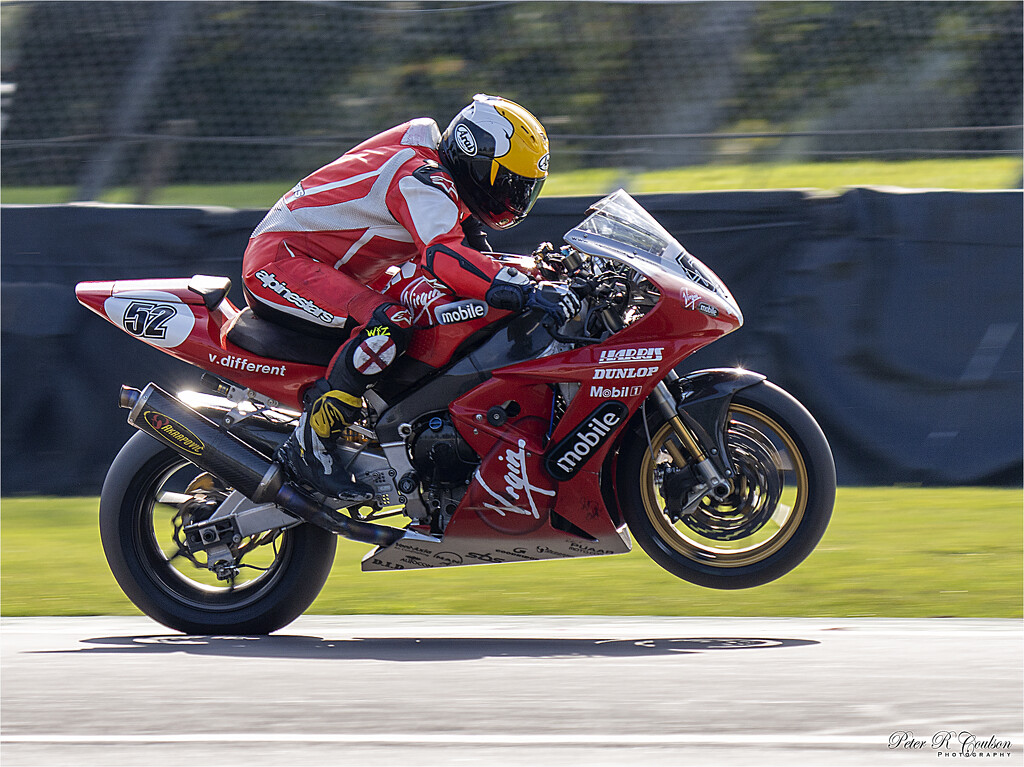 Popping a Wheelie by pcoulson