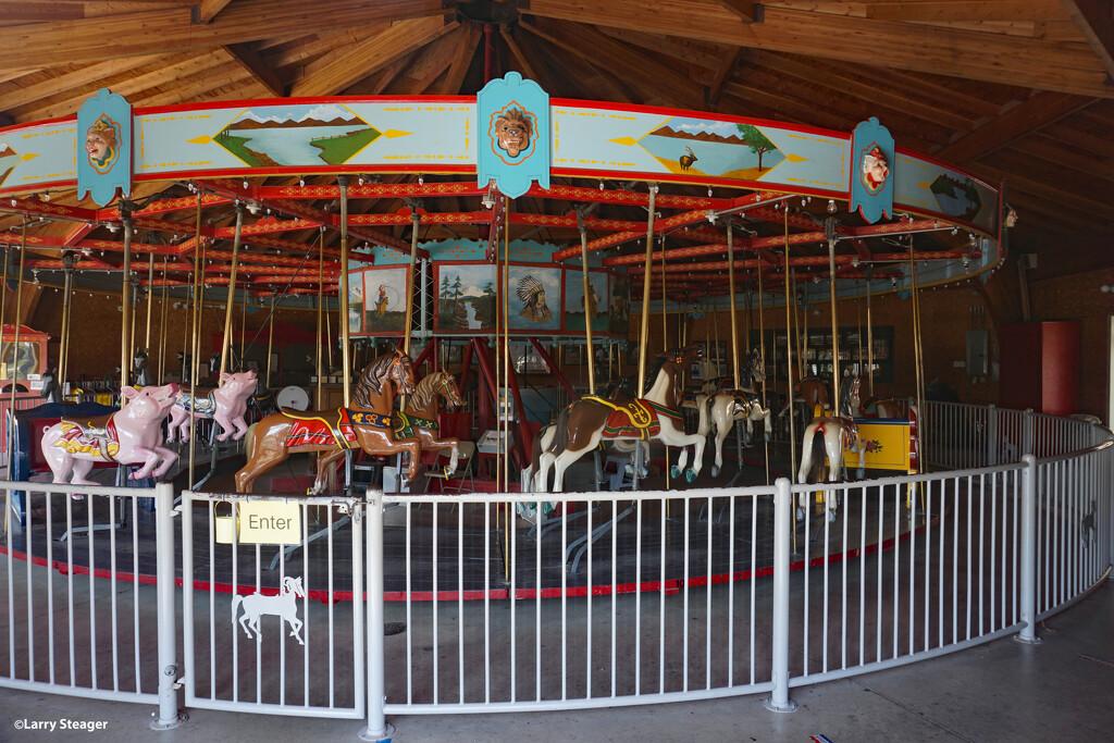 Merry-go-round by larrysphotos
