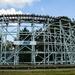 Older wooden roller coaster