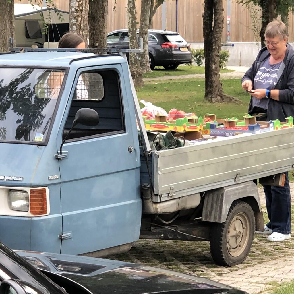 Buying fresh fruit by jacqbb