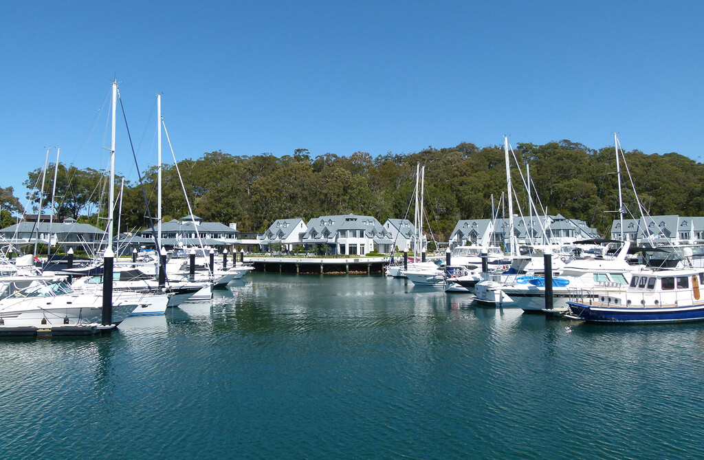 The Anchorage and Marina by onewing