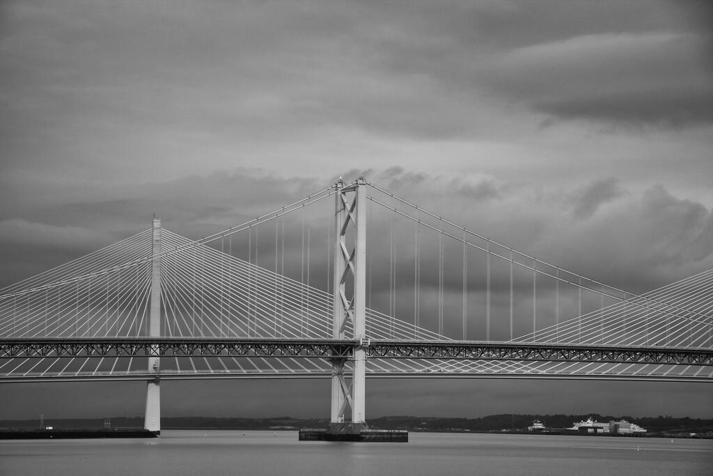 The Forth Road Bridges by jamibann