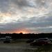 Race day sunrise