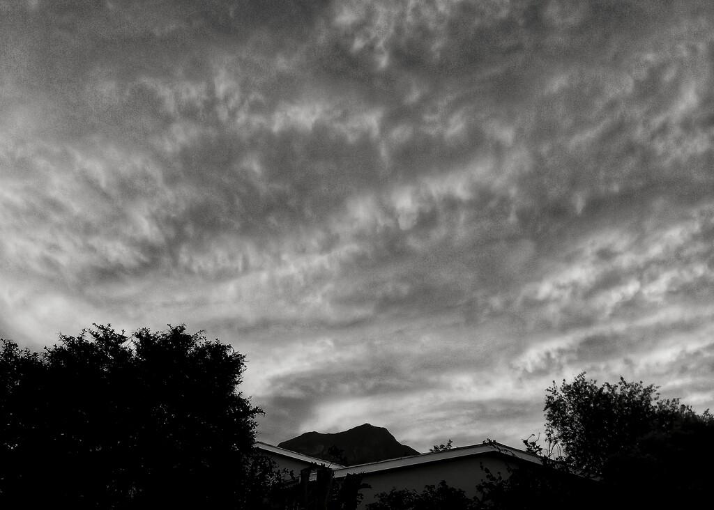 Clouds over Saronsberg  by salza