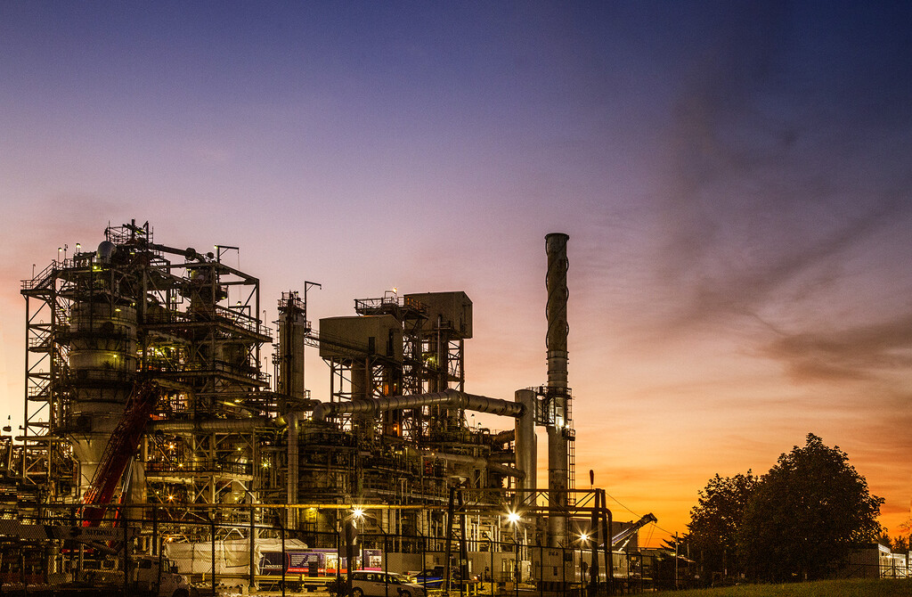 Industrial Landscape by pdulis