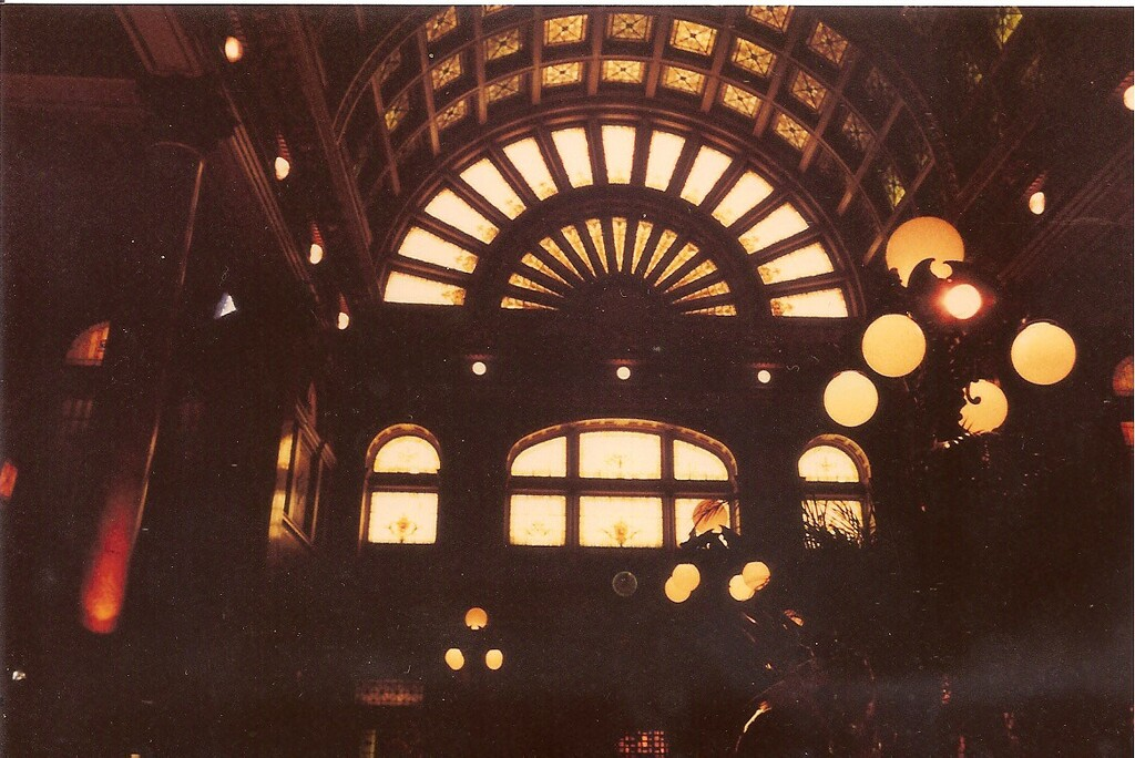 Light #7: Inside Old Pittsburgh Railway Station by spanishliz