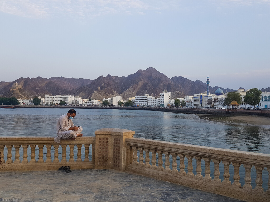 Evening in Muttrah by clearday