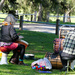 Drummers in the park