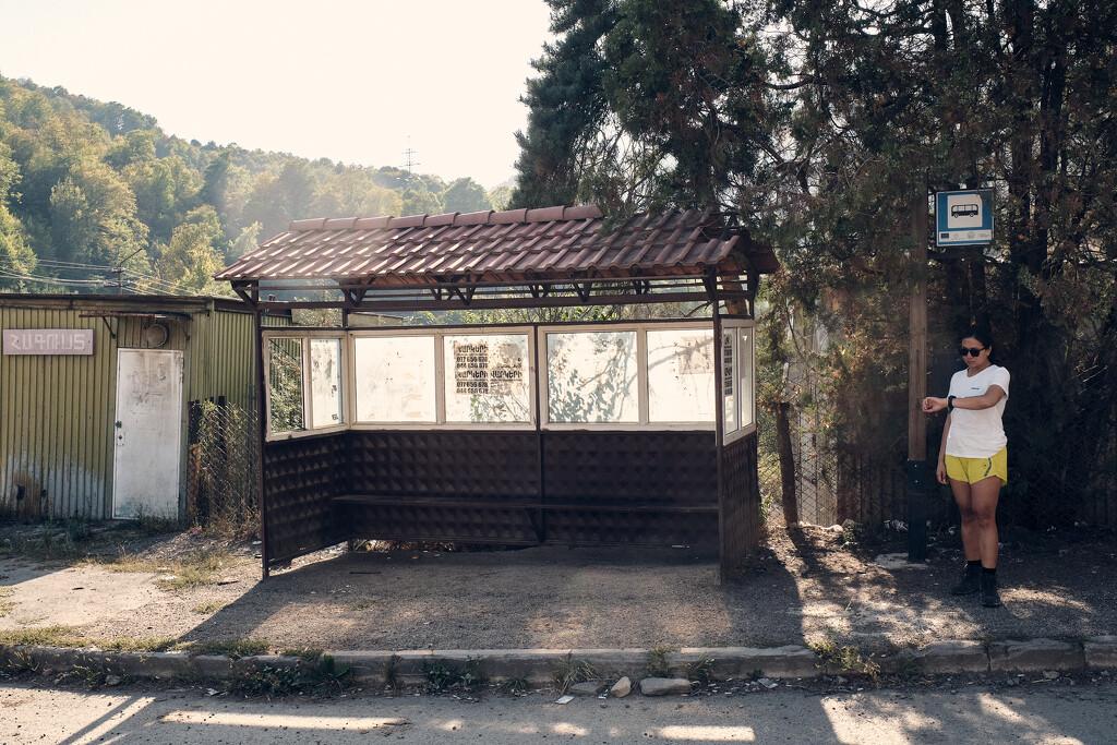 Bus stop by stefanotrezzi