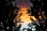25th Sep 2021 - Fall sunset.