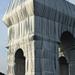 Arc de Triomphe by Christo