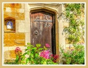 27th Sep 2021 - Old Door,Coton Manor Gardens