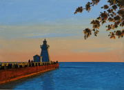 28th Sep 2021 - the port dover lighthouse