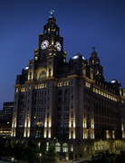 29th Sep 2021 - 0929 - Liver Building at night