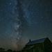 Milky Way over Little Sand Bay Barn
